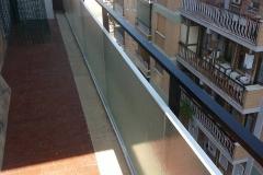 vetro per balcone